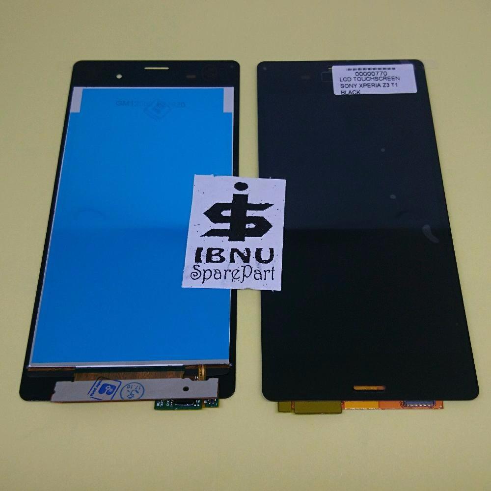 Lcd Sony Xperia Z3 Compact Fullset Bazel Original Fix Shopee Putih Indonesia