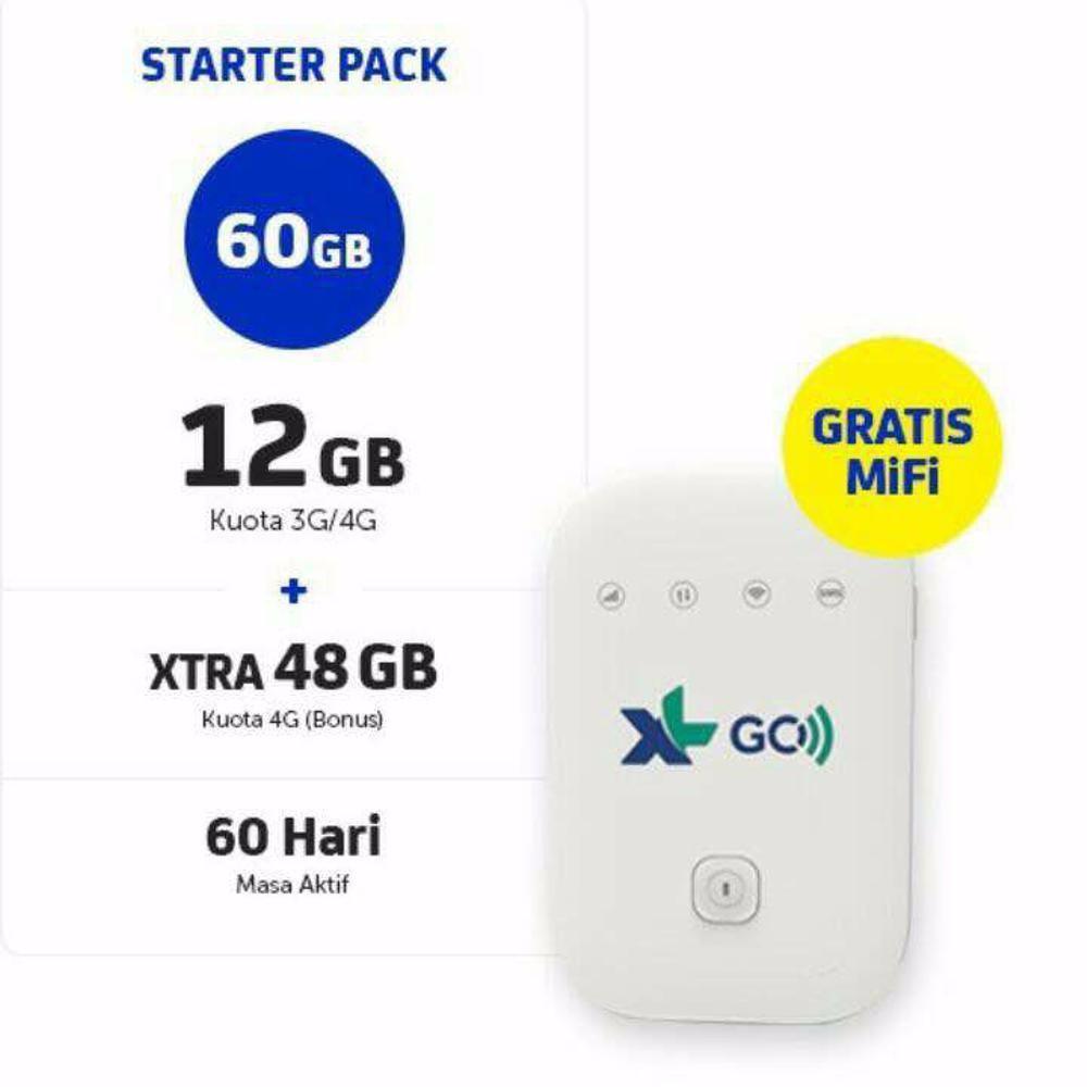 Mifi Modem XL Go Wifi 4G Movimax MV003 Free 60GB 60Hari Hot Product   Shopee Indonesia