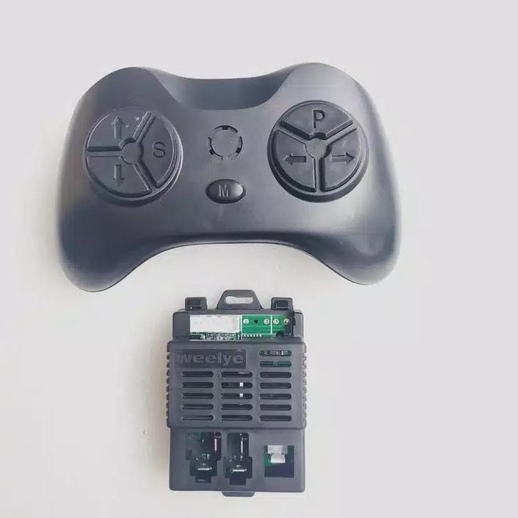 [KODE Q133] WEELYE RX60 IC SIGNAL CONTROLLER PMB 7988 6869 RECEIVER MOBIL AKI 6V MAINAN MOBILAN RC B
