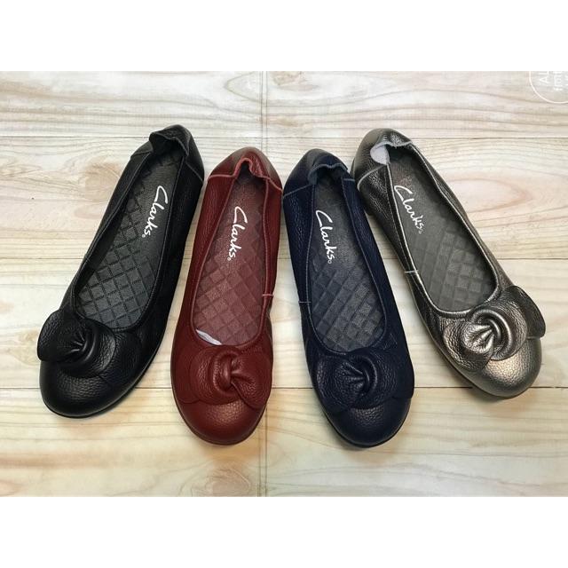 Sepatu CLARKS Wanita Uir Radial Kulit Asli Domba Lembut dan Tebal ... 12c201d129