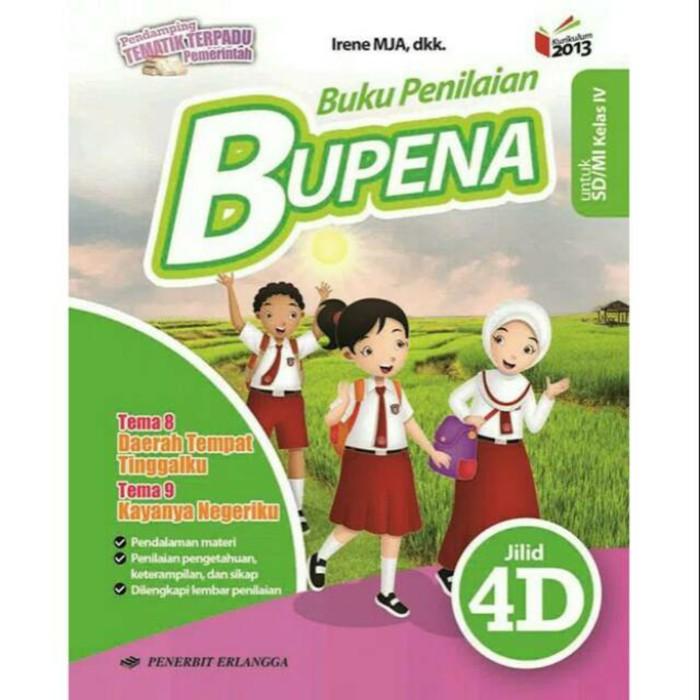 Buku Bupena 4d Kelas 4 Sd Mi Kurikulum 2013 Edisi Revisi Shopee Indonesia