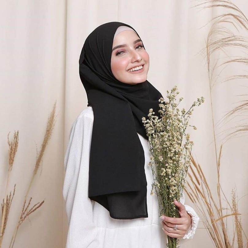 Cod Jilbab Pasmina Sabyan Diamond Shopee Indonesia