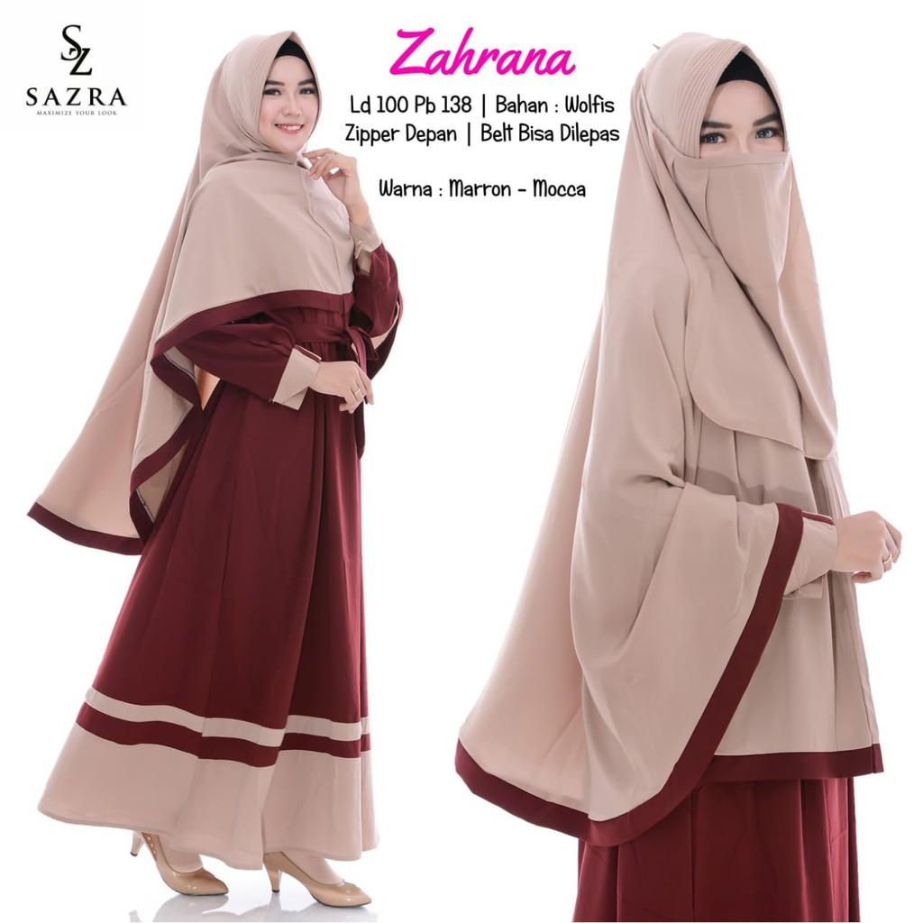 Gamis Zahrana Shopee Indonesia