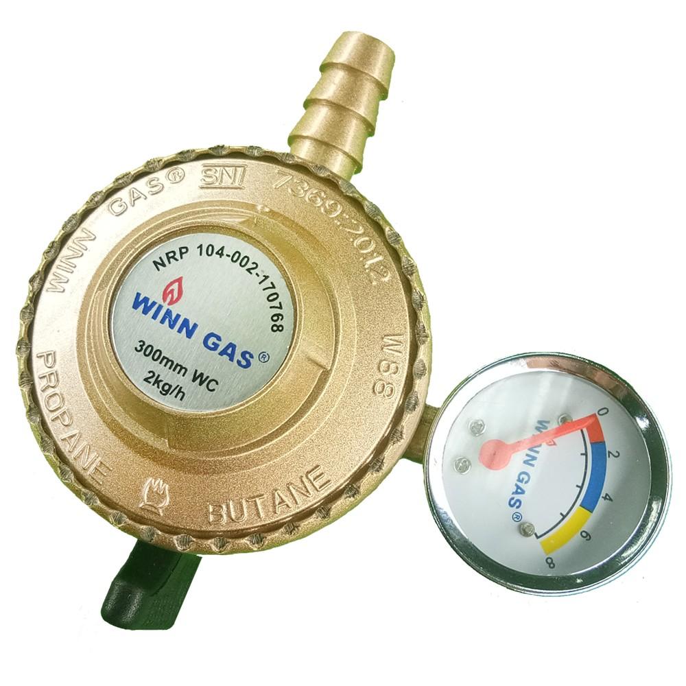 Regulator Winn Gas W88 Gold Shopee Indonesia Paket Premium Top Brand Selang Selongsong Besi Winngas Sni Garansi Resmi