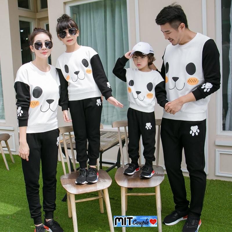 Baju Family Couple / Kaos Pasangan Keluarga LP Mickey 2 anak 10824   Shopee Indonesia