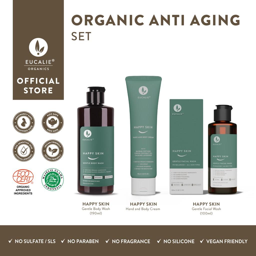 Organic Anti-Aging Set – Happy Skin