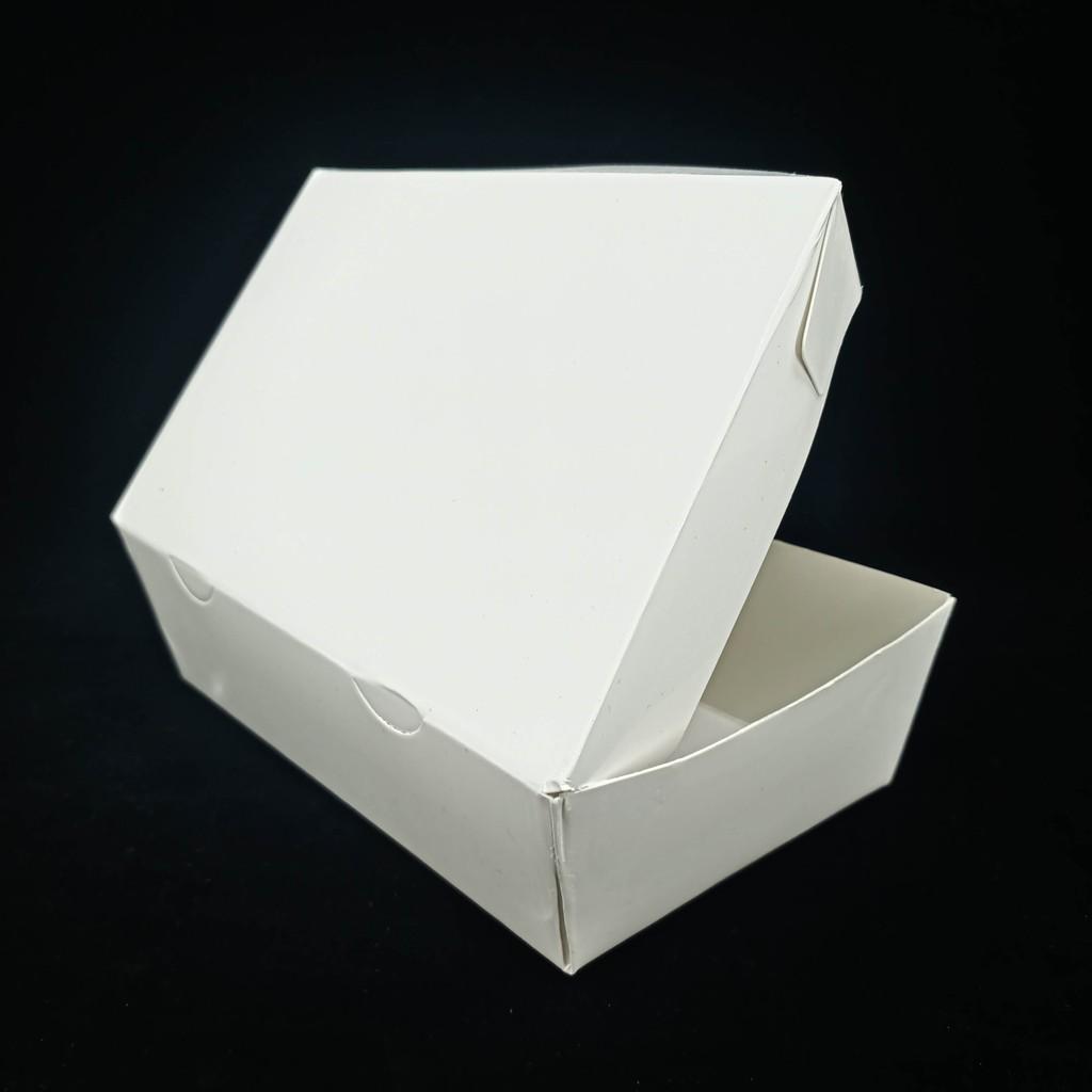 Packaging Makanan: PAPER BOX UKURAN M PUTIH