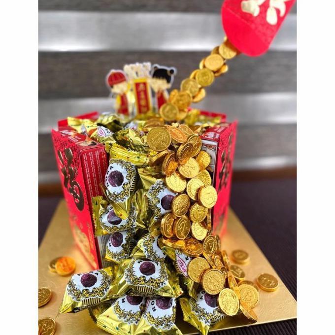 Best Seller Snack Tart/Snack Tart Isi Uang/Snack/Tart*Tower Snack/Kue Ultah Isi Ua - Paket1-100K