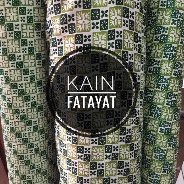 Kain Fatayat Nu Bsy Dan Semi Sutra