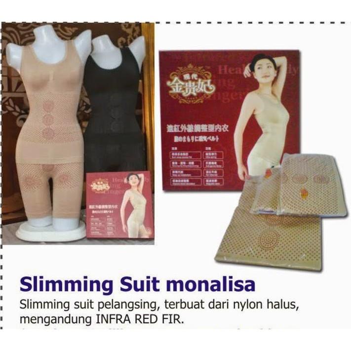 MONALISA INFRA RED SLIMMING SUIT CORSET SLIM SUIT KORSET PELANGSING | Shopee Indonesia