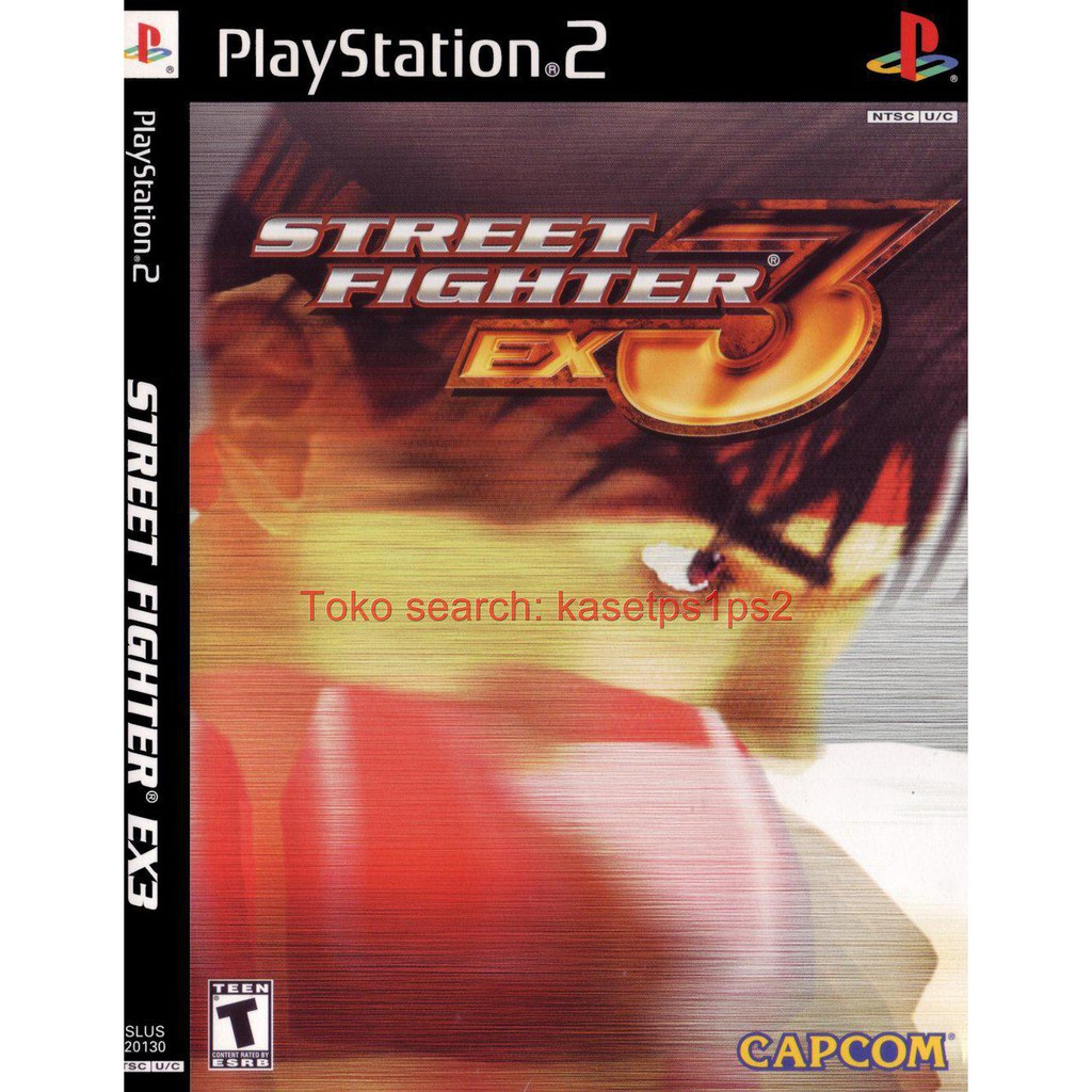 Street Fighter Ex3 Cd Ps2 Kaset Ps2 Game Ps2 Shopee Indonesia