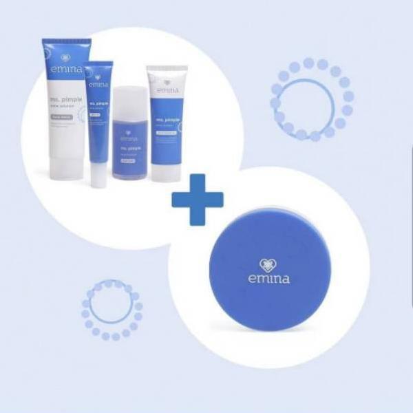 ❝,Terbaik,➜ Emina Ms Pimple Acne Solution Paket ➥ [...TR1MS....]