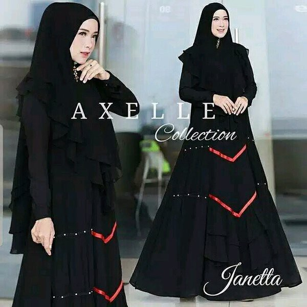 Baju Gamis Syari Wanita Dewasa Abaya Muslim Muslimah Model Pakaian