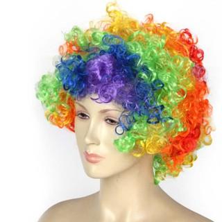 wig badut warna warni thumbnail