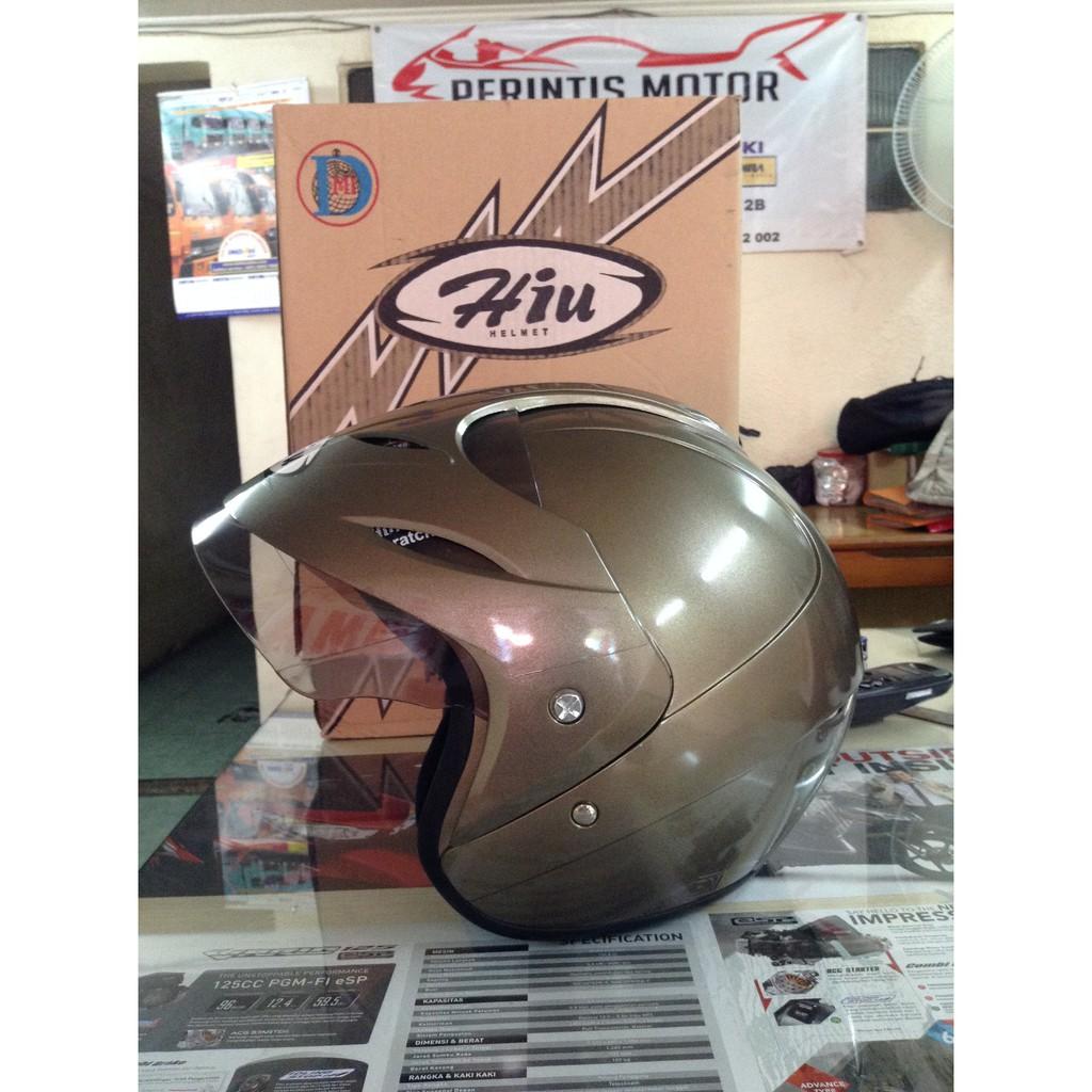 Helm Hiu Nico Half Face Helmet Sni Asli Hitam Doff Shopee Ink Centro Kw Free Bubblewrap Indonesia