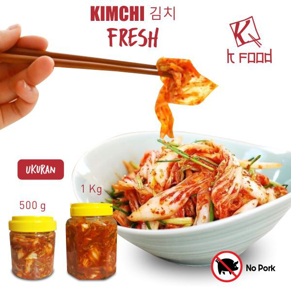 Korean Fresh Kimchi Mat Chongga 200Gram Made In Korea Sawi | Shopee Indonesia