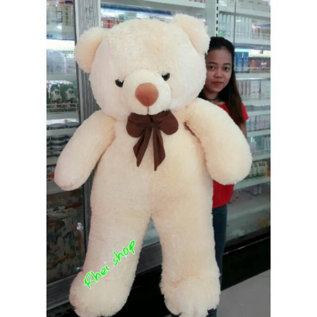 Boneka Beruang Teddy Bear Super Jumbo 120cm Warna Cream  849d03641e