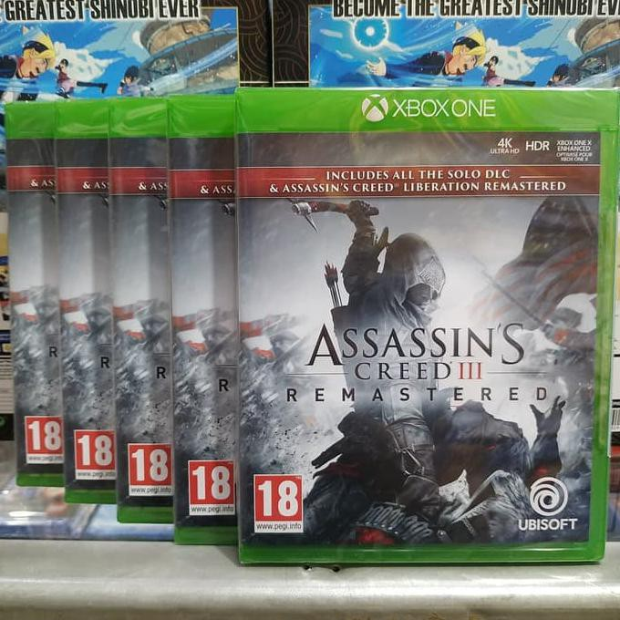 Best Saller Assassin S Creed Iii Remastered Xbox One Ayoo Buruan