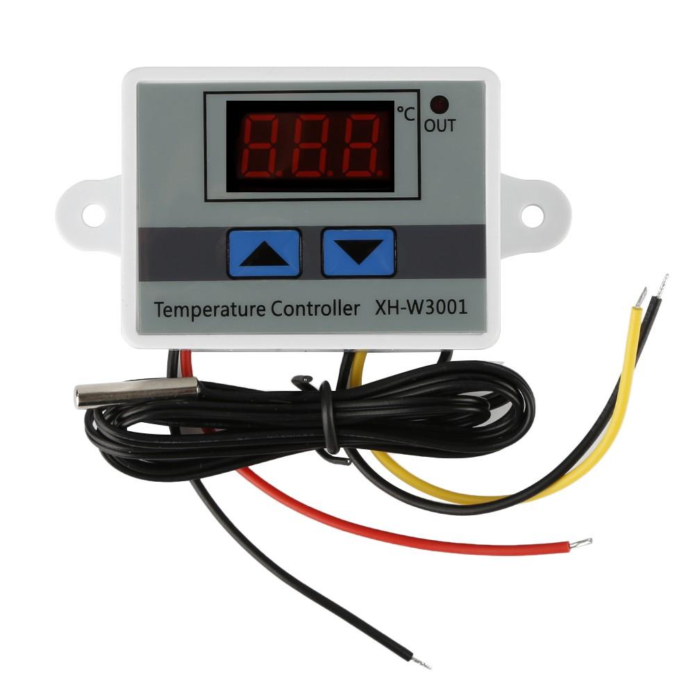 Thermostat Digital 220v Temperature Termostat Suhu Panas Dingin Control Pemanas Mesin Tetas Shopee Indonesia