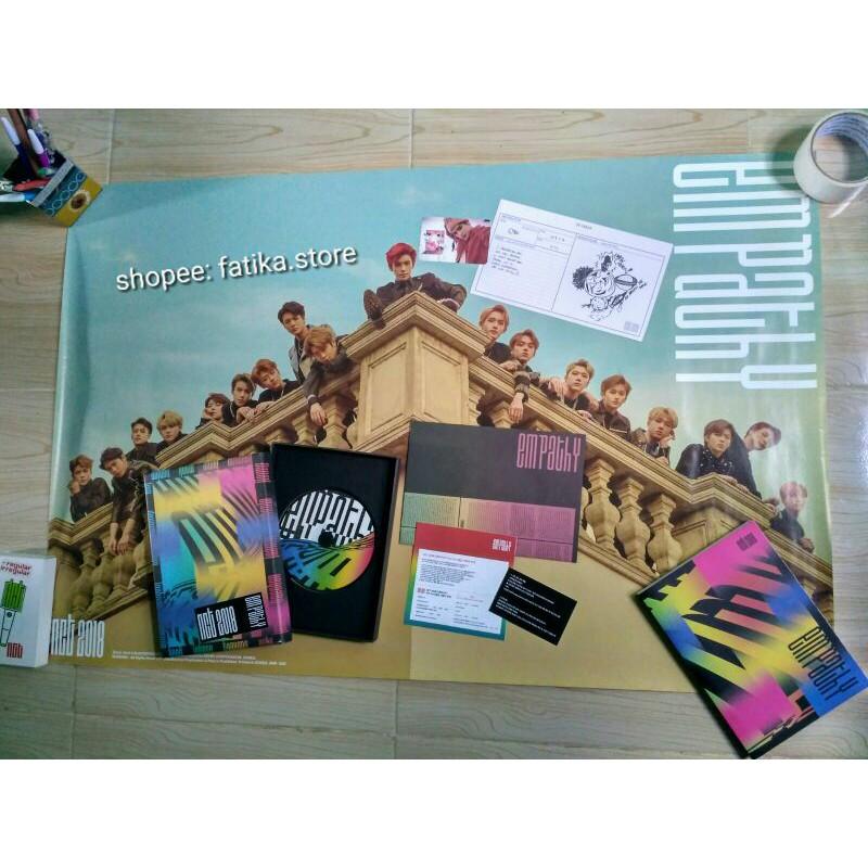 READY STOCK INA Album Empathy Dream ver poster album NCT 2018 empathy Ten diary photocard Jaehyun PC