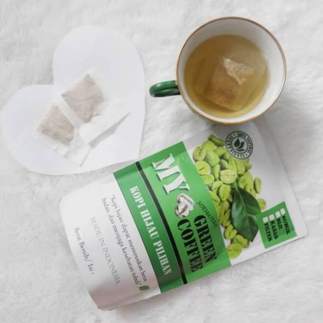 MY GREEN COFFEE/ KOPI HIJAU/ KOPI DIET SACHET (TEA BAG) ISI 30 PCS | Shopee Indonesia