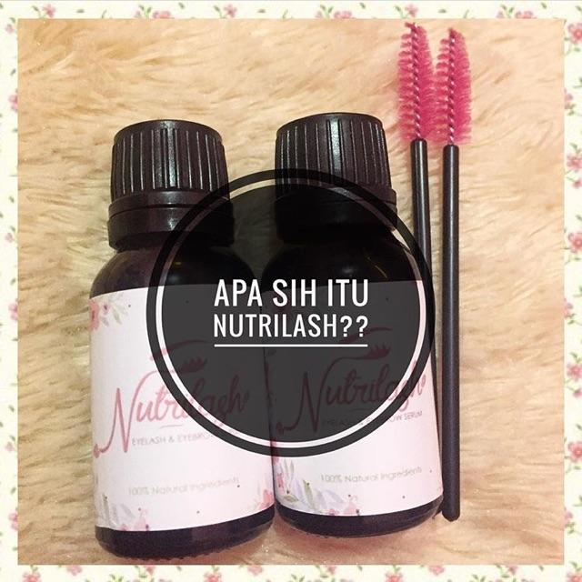 Nutrilash Serum Vitamin Alis & Bulu mata - Eyelash serum   Shopee Indonesia