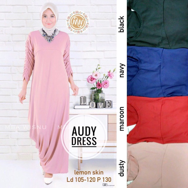Audy Dress Shopee Indonesia