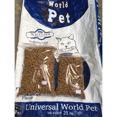 500gr Universal World Pet Tuna Cat Food Makanan Kucing Repack Shopee Indonesia
