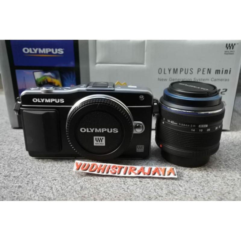 Olympus E-PM2 Kit 14-42mm II R MSC Resmi OCCI