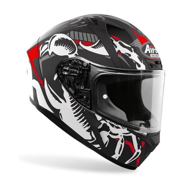 Helm Full Face Airoh Valor Helmet Airoh Valor Helm Airoh Valor Shopee Indonesia