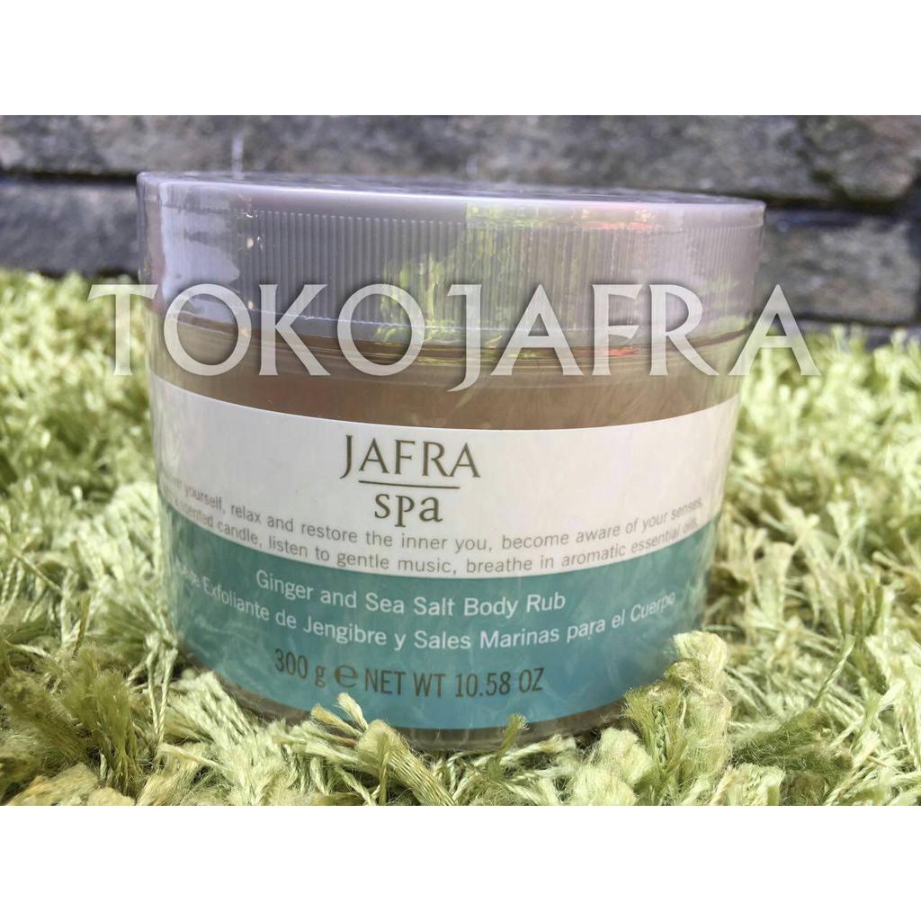 Jafra Scrub Ginger Sea Salt 30 Gram Shopee Indonesia And Body Rub