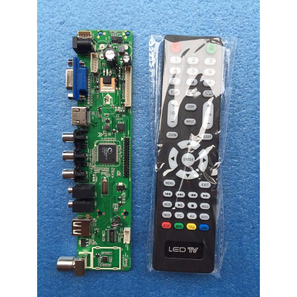 V56 Board Driver Universal Interface Pc Hdmi Usb Untuk Kontrol Tv Lcd 1602 16x2 Blue Backlight  And Quality Shopee Indonesia