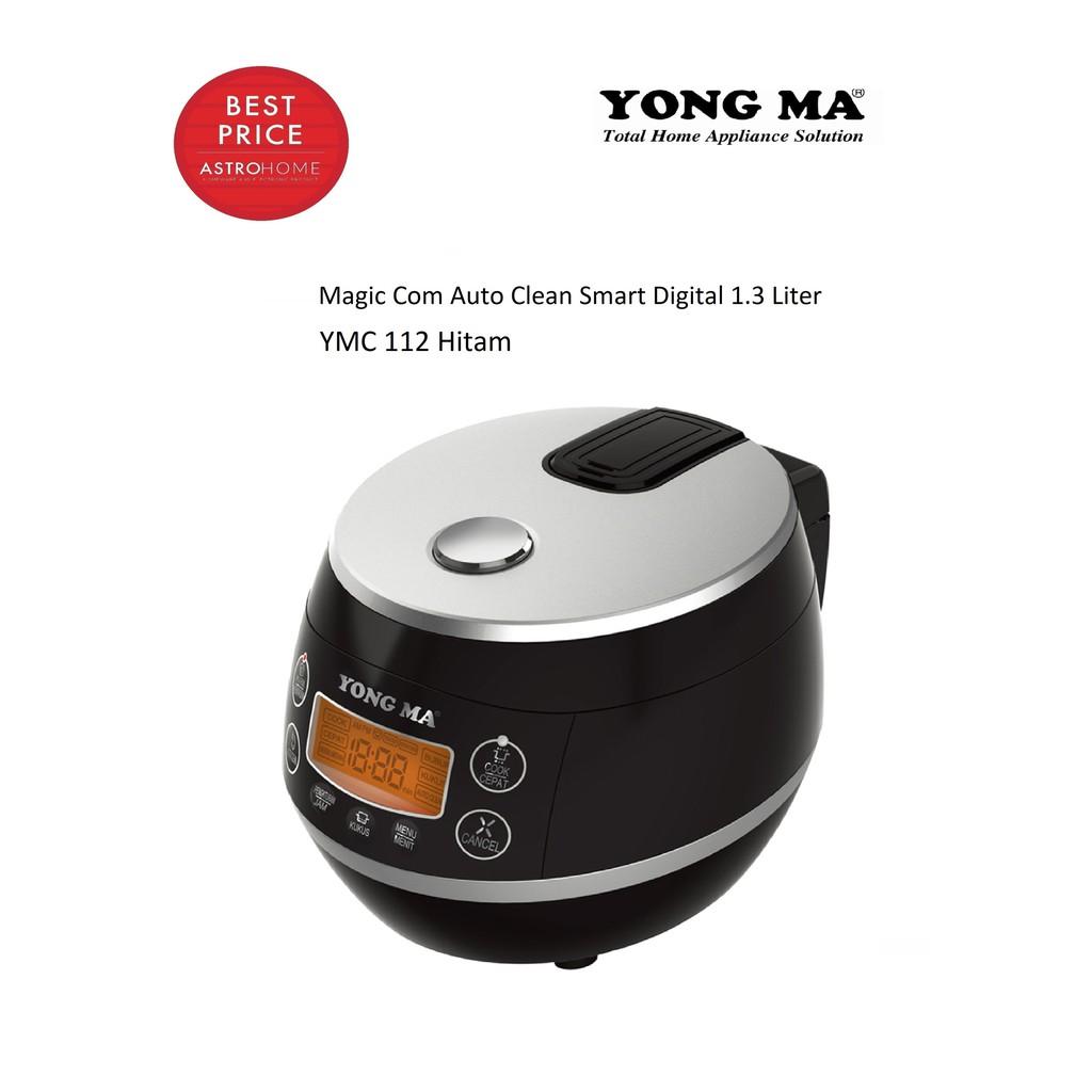 Rice Cooker Magic Com Digital Yong Ma Mc 1380 Merah Shopee Indonesia Magicom Mc3560
