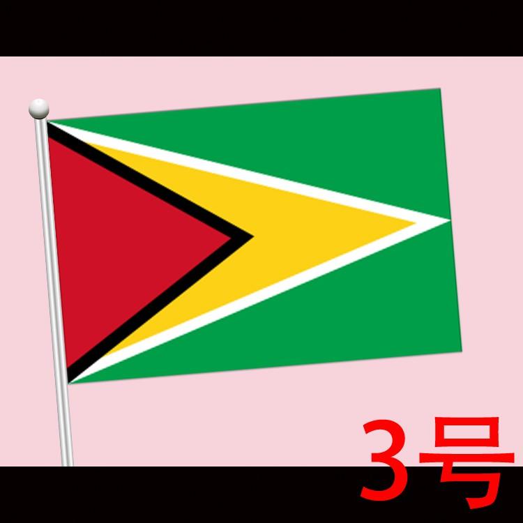 Happy Lukisan Dinding Mural Desain Bendera Guyana 3 Bendera Shopee Indonesia