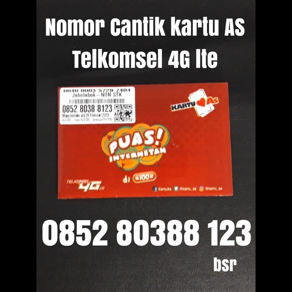 Nomor cantik kartu AS Telkomsel 4G lte nomer kartu perdana 7373 | Shopee Indonesia