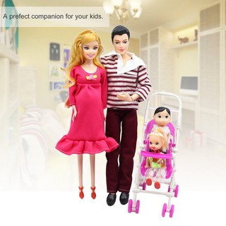 Bayar Di TempatSet Boneka Keluarga 5 Orang Ayah+Ibu ...