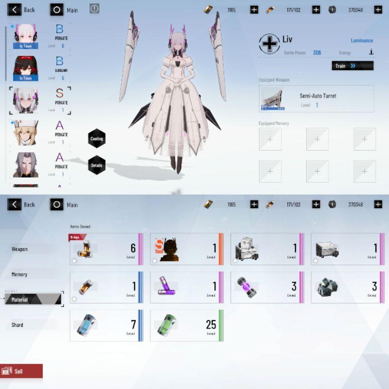 Akun Starter Punishing: Gray Raven Server Asia