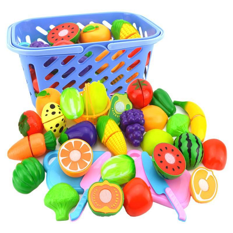 Buah Sayur Cake Potong Buah Potong Mainan Masakan Sayuran Potong Cut the  Fruit  eccc1e39e6