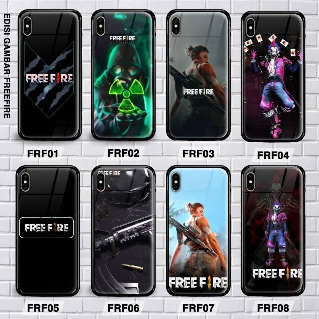 Custom Case Free Fire Samsung J4 2018 J6 2018 J8 2018 J4 Plus J6 Plus J7 Plus Premium Glass Case Shopee Indonesia