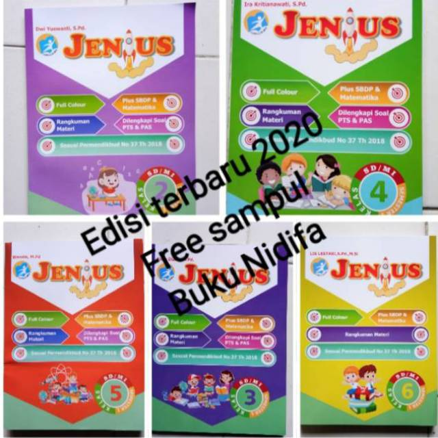 Contoh Kunci Jawaban Revisi Jenius Kelas 6 Download File Guru