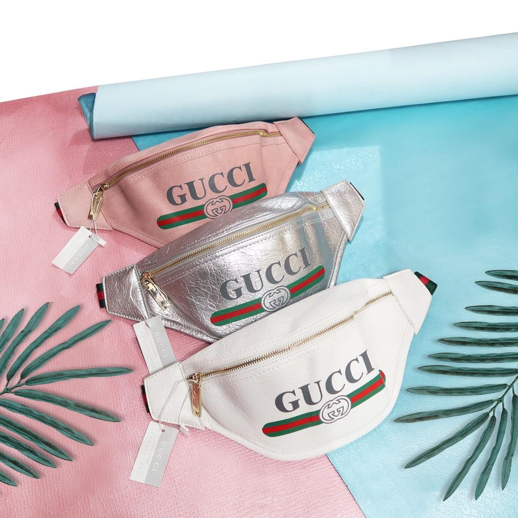 Gucci belt bag 2741   ( dapat sling bag rantai ) tas guci pinggang ... d2611f3f28