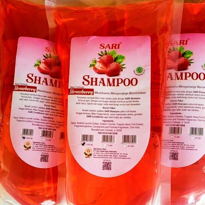 Shampoo Basic Strawberry Original - 1Liter.-3
