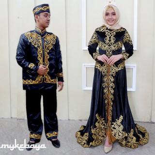 New Ribbon Gold Plumary Baju Kebaya Modern Cocok Untuk Kebaya Daily