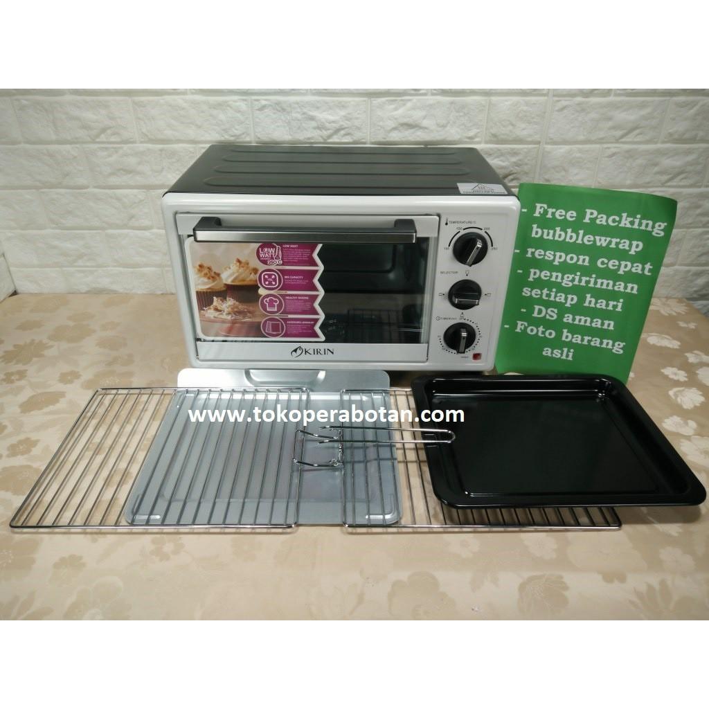 Oven Listrik Kirin Kbo 90m Shopee Indonesia Pyrex Clear Oblong Dish 3 9l Untuk Panggang Px