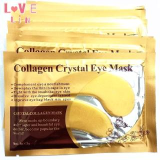 Lovelin 1PCS Gold collagen crystal eye mask to dilute fine lines and moisturize thumbnail