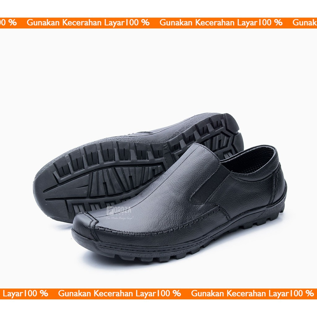Sepatu Pria Regio Derby Slip On Suede Sz 39 43 Original Hummer Neopo Leather Kulit Asli Shopee Indonesia