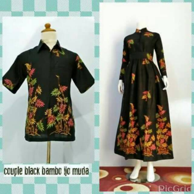 Gamis Batik Couple Shopee Indonesia