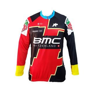 Kaos Jersey Sepeda Baju Lengan Panjang Roadbike XC BMC B041 MTB