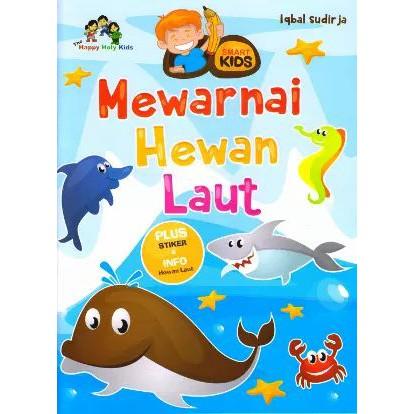 Seri Mewarnai Hutan Laut Dan Hewan Hutan Shopee Indonesia