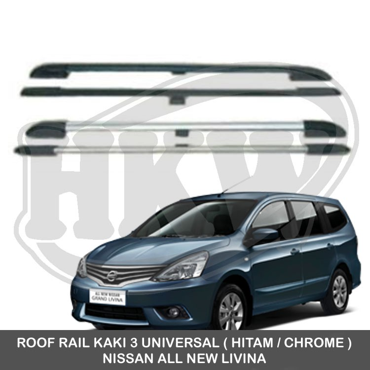 Roof Rail Kaki 3 Universal Nissan All New Livina Shopee Indonesia